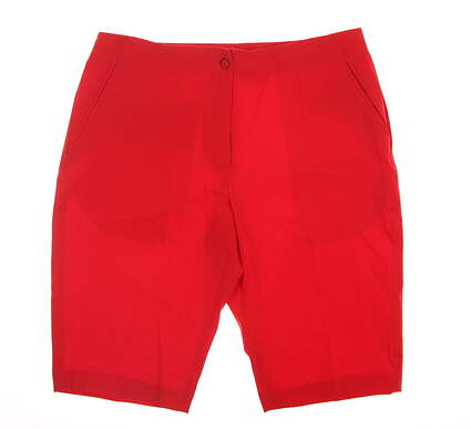 New Womens EP Pro Golf Shorts 8 Red 8220GB MSRP $50
