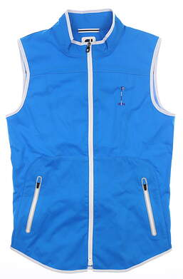 New W/ Logo Womens Footjoy Golf Vest Small S Blue MSRP $150