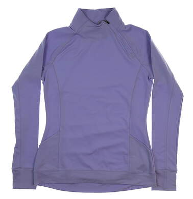New Womens Puma Brisk 1/4 Zip Pullover Small S Sweet Lavender MSRP $75 577936 03