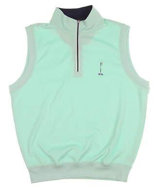 New W/ Logo Fairway & GreeneWomens Golf Small S Mint Vest MSRP $95