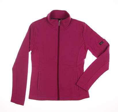 New Womens Straight Down Golf Jacket Small S Pink MSRP $94