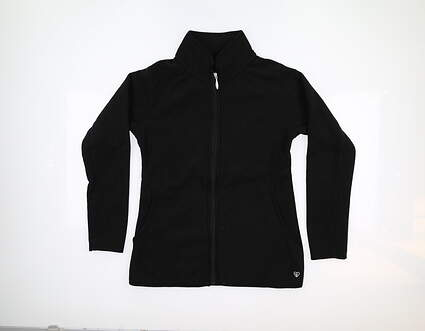 New 10.0 Womens Straight Down Golf Jacket Small S Black MSRP $94