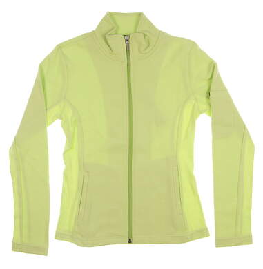 New Womens Straight Down Golf Jacket Small S Green MSRP $94