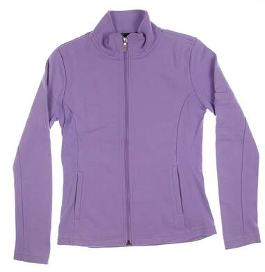 New Womens Straight Down Golf Jacket Small S Purple MSRP $94