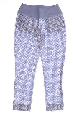 New Womens Puma PWRSHAPE Checker Pant Size Small S Sweet Lavender MSRP $85 577955 03