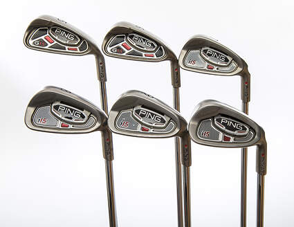 Ping i15 Iron Set 5-PW Rifle 5.5 Steel Regular Right Handed Red dot 37.75 in