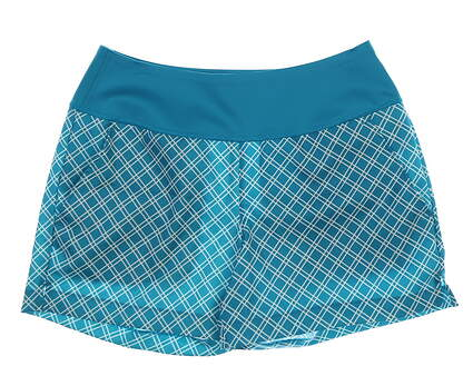 New Womens Puma PWRSHAPE Shorty Shorts Size Small S Caribbean Sea MSRP $65 577945 06