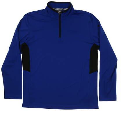 New Mens Puma Proven 1/4 Zip Pullover Medium M Surf the Web MSRP $65 577900 07