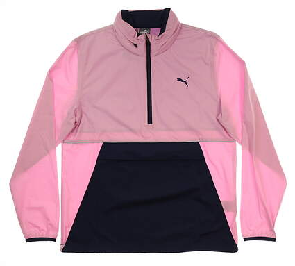 New Mens Puma Retro Wind Jacket Medium M Pale Pink MSRP $90 577896 02