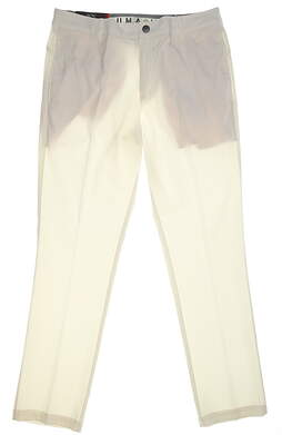 New Mens Puma Tailored Proven Pants 32x32 White MSRP $80 578720 05