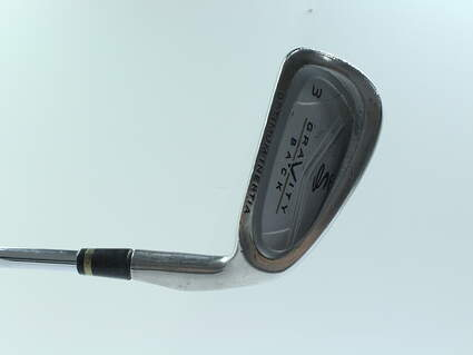 Cobra Gravity Back Single Iron 3 Iron Stock Steel Shaft Steel Stiff Right Handed 39 in