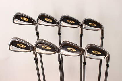 Titleist DCI 822 Oversize Iron Set 3-PW Stock Graphite Shaft Graphite Stiff Right Handed 38 in