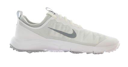 New Womens Golf Shoe Nike FI Bermuda 6.5 White/Grey MSRP $110