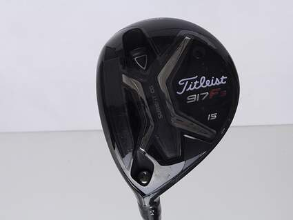 Titleist 917 F3 Fairway Wood 3 Wood 3W 15* Project X Even Flow Blue 75 Graphite Stiff Left Handed 43 in
