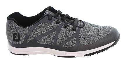 New Womens Golf Shoe Footjoy Leisure Medium 8.5 Gray MSRP $110