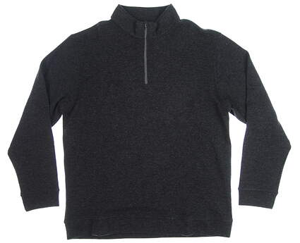 New Mens Dunning Golf 1/4 Zip Sweater XX-Large XXL Gray MSRP $140