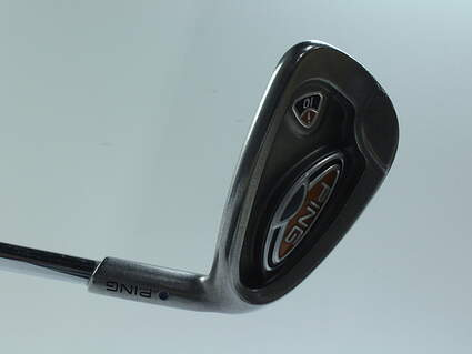Ping i10 Single Iron 8 Iron Ping AWT Steel Stiff Right Handed Blue Dot 36.25 in