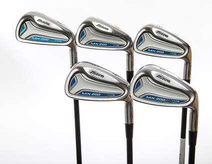 Mizuno MX 200 Iron Set 6-PW ProLaunch AXIS Blue Graphite Ladies Right Handed 37.25 in