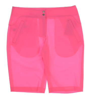 New Womens EP Pro Coachella Golf Shorts Size 6 High Voltage Pink MSRP $70 3108SGA