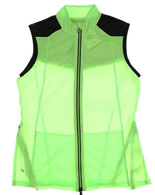 New Womens EP Pro Sport Prismatic Golf Vest Small S Laser Lime Multi MSRP $70 5116SHA