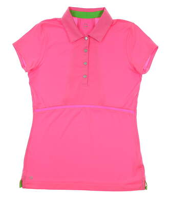 New Womens EP Pro Sport Polo Small S Pink MSRP $60
