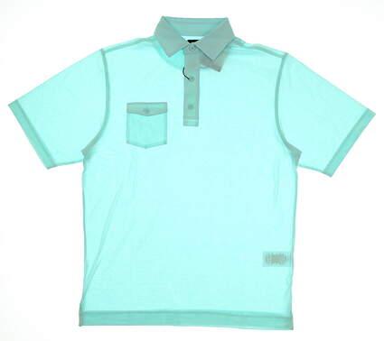 New Mens Footjoy Golf Polo Small S Seafoam MSRP $72 22841 22841