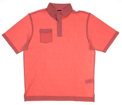 New Mens Footjoy Golf Polo Medium M Pink MSRP $72 22839