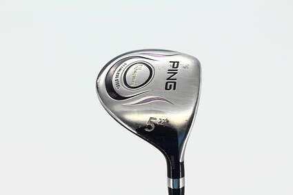 Ping Rhapsody Fairway Wood 5 Wood 5W 22* Stock Graphite Shaft Graphite Ladies Right Handed 43.75 in
