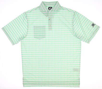 New W/ Logo Mens Footjoy Golf Polo Medium M Multi 25543 MSRP $75