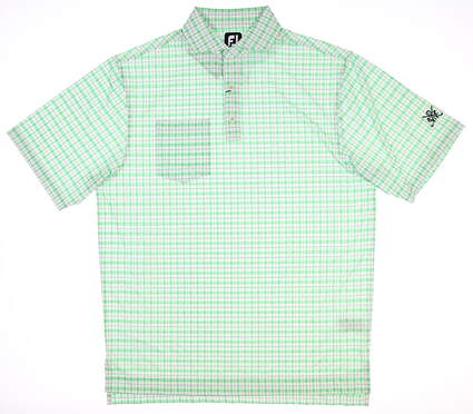 New W/ Logo Mens Footjoy Polo Large L Multi 25543