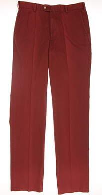 New Mens Peter Millar Pants 34 Red MF15884 MSRP $125