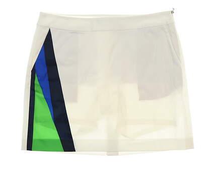 New Womens Ralph Lauren Golf Skort Size 12 White MSRP $145