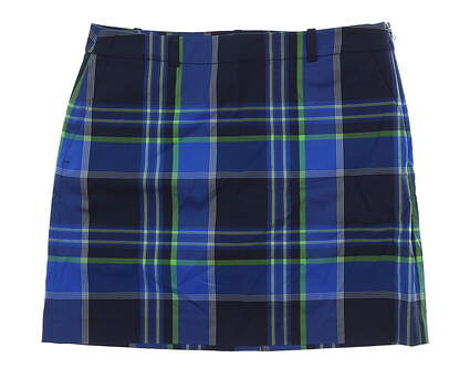 New Womens Ralph Lauren Golf Skort Size 8 Multi MSRP $145