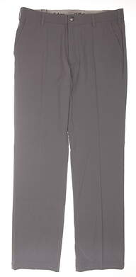 New Mens Adidas Golf Pants 34 x34 Gray MSRP $80