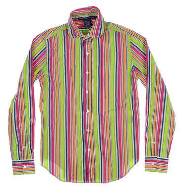 New Womens Ralph Lauren Button Up X-Small XS Multi 0964488WLBDA MSRP $88.99