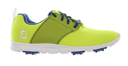 New Womens Golf Shoe Footjoy enJoy Medium 7 Green/Blue MSRP $80 95709