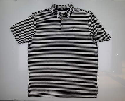 New W/ Logo Mens Peter Millar Golf Polo X-Large XL Multi ME0EK02S MSRP $89