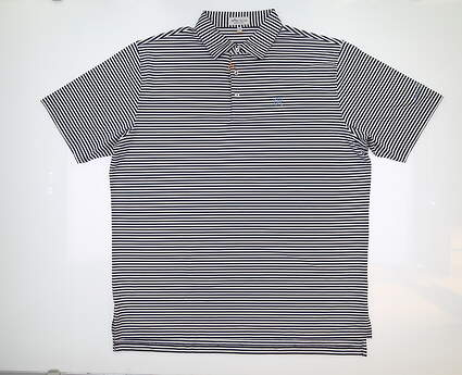 New W/ Logo Mens Peter Millar Golf Polo Multi MSRP $89