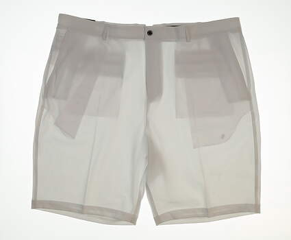 New Mens Dunning Golf Shorts Size 42 White MSRP $80 141191