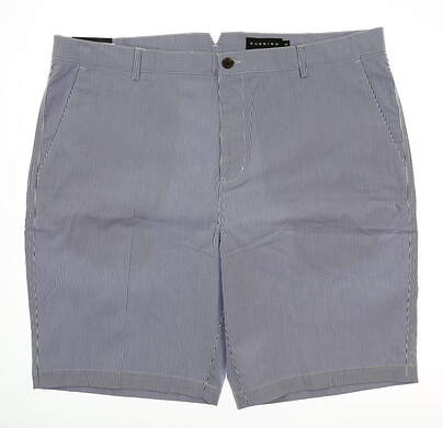 New Mens Dunning Golf Shorts Size 42 Blue MSRP $94