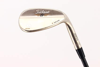 Titleist Vokey SM5 Gold Nickel Wedge Sand SW 56* 14 Deg Bounce F Grind MRC Kuro Kage Low Balance 50 Graphite Ladies Right Handed 34.25 in