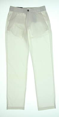 New Mens Under Armour Golf Pants 30 x32 White UM8811 MSRP $85