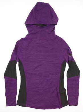 New W/ Logo Womens Footjoy Hoodie X-Small XS Purple MSRP $140 27293