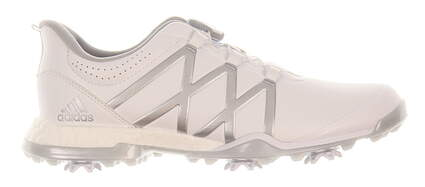 New Womens Golf Shoe Adidas Adipower Boost BOA Medium 7 White/Silver MSRP $180