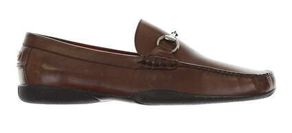New Mens Golf Shoe Peter Millar Loafer 8.5 Brown MSRP $300