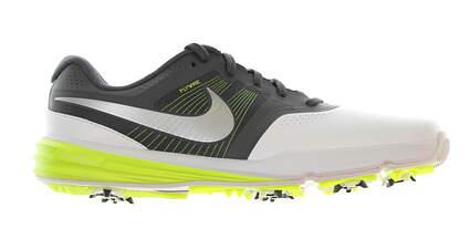 New Mens Golf Shoe Nike Lunar Command 9 White/Grey/Volt MSRP $150