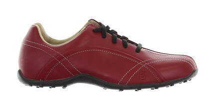 New Womens Golf Shoe Footjoy Casual Collection Medium 7.5 Red MSRP $120