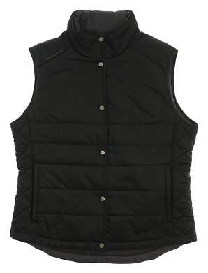 New Womens Sun Mountain Alpine Vest X-Large XL Black MSRP $100