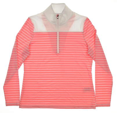 New Womens Footjoy 1/2 Zip Pullover Large L Multi MSRP $115 27540