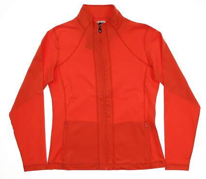 New Womens Footjoy Performance Jacket Small S Papaya MSRP $85 27146